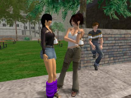 Second Life in den Tagesthemen