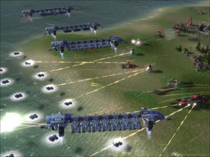 Das Introvideo von Supreme Commander zum Download