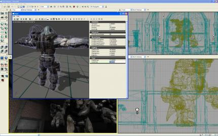 Der Unreal Tournament 3 Editor UnrealEd in bildlicher Form