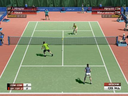 Screenshot aus Virtua Tennis 3.