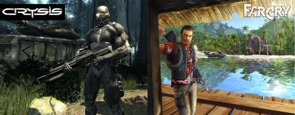 Far Cry (dt.) vs. Crysis