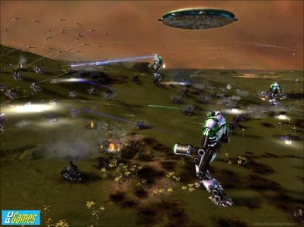 Trailer zu Supreme Commander: Forged Alliance von der GC