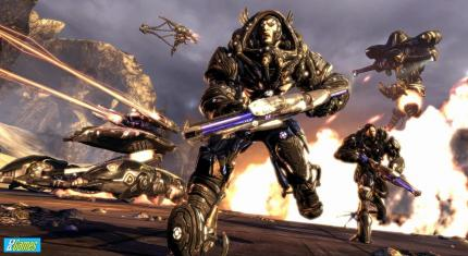 Wackel-Video zu Unreal Tournament 3 von der Comic-Con