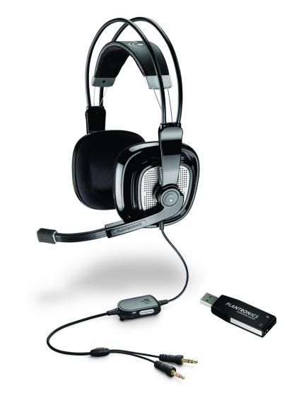 GC 2007: Plantronics stellt neues Gaming-Headset vor