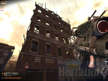 GC 2007: Exklusive Screenshots des Physx-Shooters Warmonger