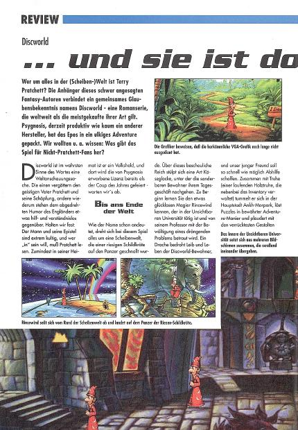 Discworld im Klassik-Test