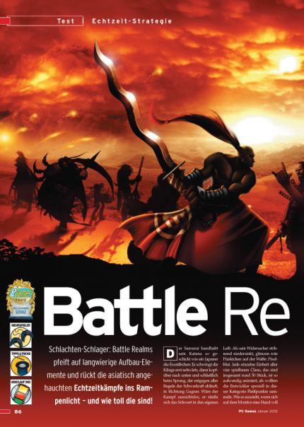 Battle Realms im Klassik-Test