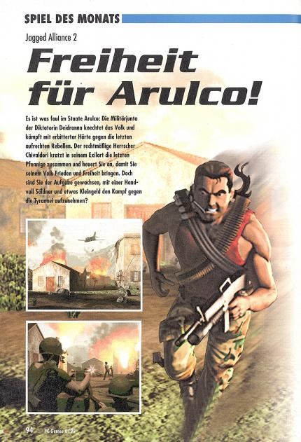 Jagged Alliance 2 im Klassik-Test