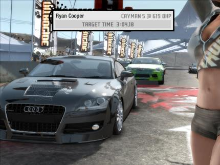 Der Blitztest von Need for Speed Pro Street auf pcaction.de