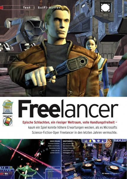 Freelancer im Klassik-Test