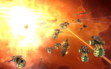 Webseite zu Sins of a Solar Empire online