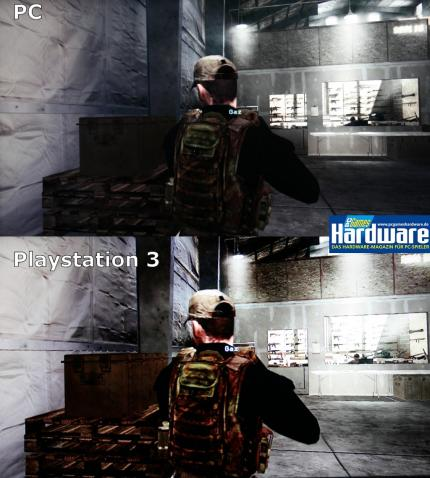 Call of Duty 4: Screenshotvergleich PC vs. Playstation 3
