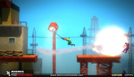 Koop-Trailer zum Actionspiel Bionic Commando Rearmed erschienen