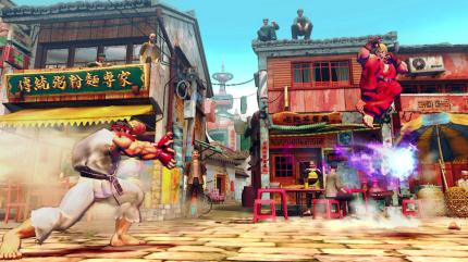 Homepage zu Street Fighter 4 online