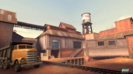 Team Fortress 2: Rundflug-Video über die Map Goldrush