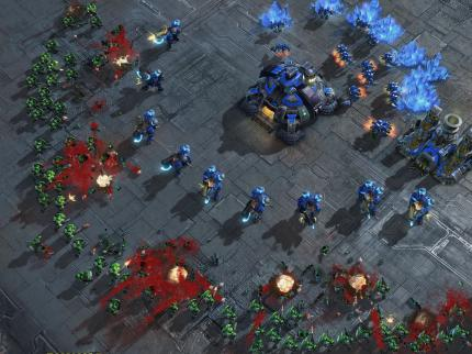 Screenshots aus Starcraft 2. (17)