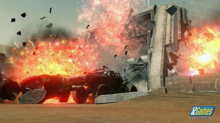 Explosiver Messe-Trailer zum Ego-Shooter Red Faction: Guerrilla