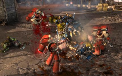 Knapp hinter Empire weilt ein weiteres Strategiespiel: Dawn of War 2.