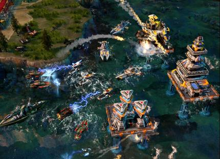 Command & Conquer: Alarmstufe Rot 3: 15-minütiges Mehrspieler-Match im Video