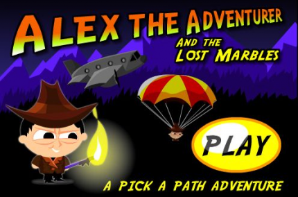 Flashspiel des Tages: Alex the Adventurer and the Lost Marbles