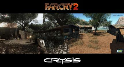 Far Cry 2 gegen Crysis: DuniaEngine vs. CryEngine 2