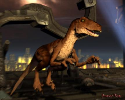 Mod des Tages: Jurassic Rage III 0.85 -  Dinos in Unreal Tournament 3