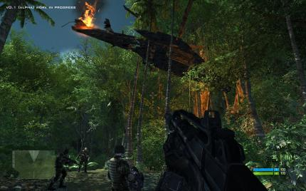 In Predator: Heat of the Jungle für den Next-Gen Shooter Crysis landen Sie unfreiwillig im Dschungel.
