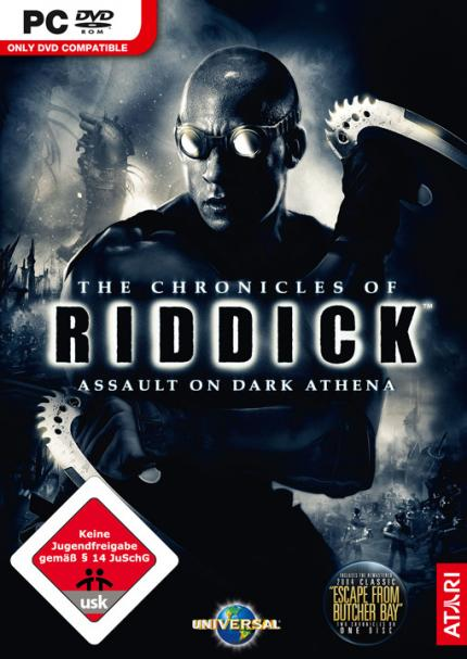 Der PC-Packshot zu Chronicles of Riddick: Assault on Dark Athena.