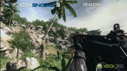 CryEngine 3-Screenshot aus dem Präsentations-Trailer der Game Developers Conference.