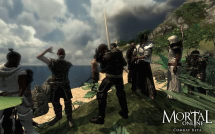Mortal Online-Screenshot aus der 'Combat'-Beta.