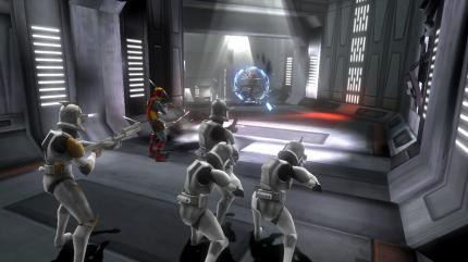 Attacke! Einer der neuen Screenshots zu Star Wars: The Clone Wars - Republic Heroes.