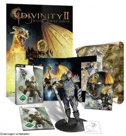 Die Collector's Edition zu Divinity 2: Ego Draconis.