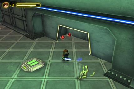 Screenshots aus dem kostenlosen Actionspiel Star Wars: The Quest for R2-D2.