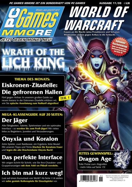 Die neue PC Games MMORE 11/09 am Kiosk.