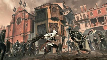 Aktuelle Screenshots aus Assassin's Creed 2.