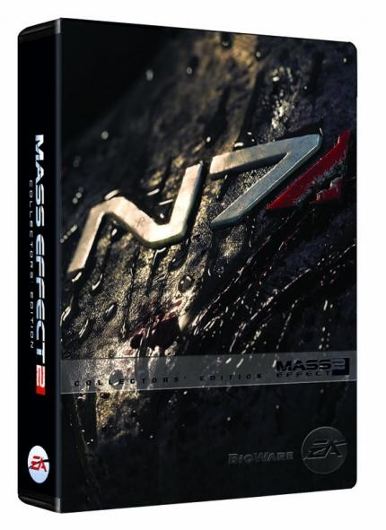 Die Collector's Edition von Mass Effect 2.