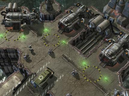 Neue Bilder aus Starcraft 2: Wings of Liberty.
