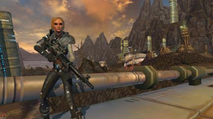 Imperialer Agent: Screenshot aus Star Wars: The Old Republic.