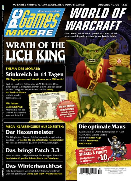 Die aktuelle PC Games MMORE 12/09.