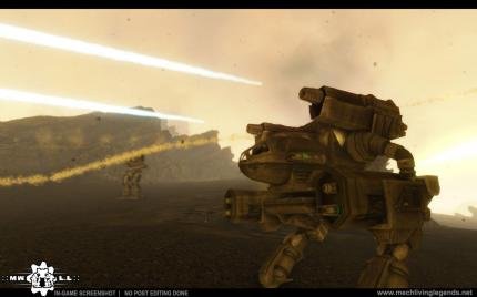 Beta-Release: MechWarrior: Living Legends steht zum Download bereit: Bilder aus der Crysis-Total-Conversion.
