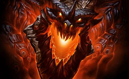 World of Warcraft Cataclysm - mit Todesschwinge als Oberbösewicht.