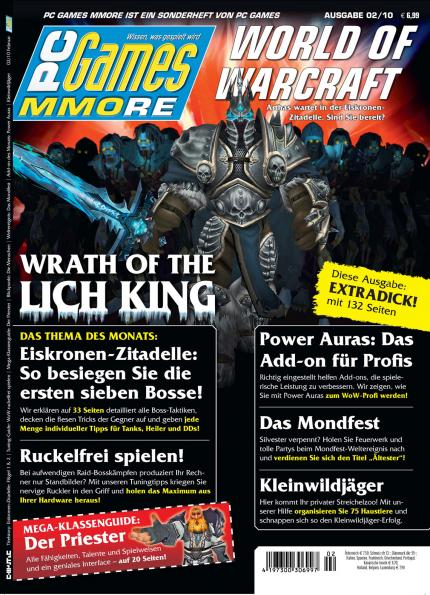 Die aktuelle PC Games MMORE 02/10