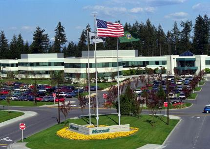 Der Microsoft-Campus in Redmond.