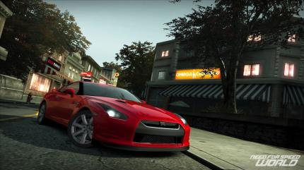Screenshots aus dem kostenlosen Online-Rennspiel Need for Speed World.