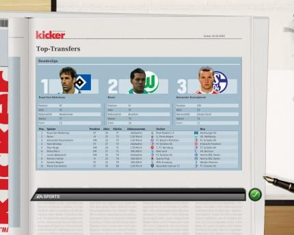 Screenshots aus dem Fussball Manager 10 (2)