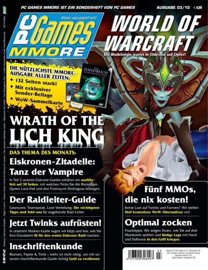 Die aktuelle PC Games MMORE 03/10