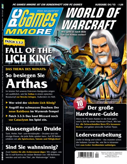 Die aktuelle PC Games MMORE 04/10