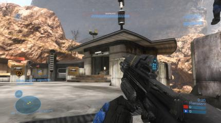 Halo Reach-Screenshots aus der MP-Beta
