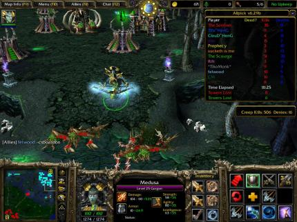 Defense of the Ancients für Warcraft 3.