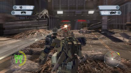 Alle neuen InGame-Screenshots zu Front Mission Evolved in der Bildergalerie.